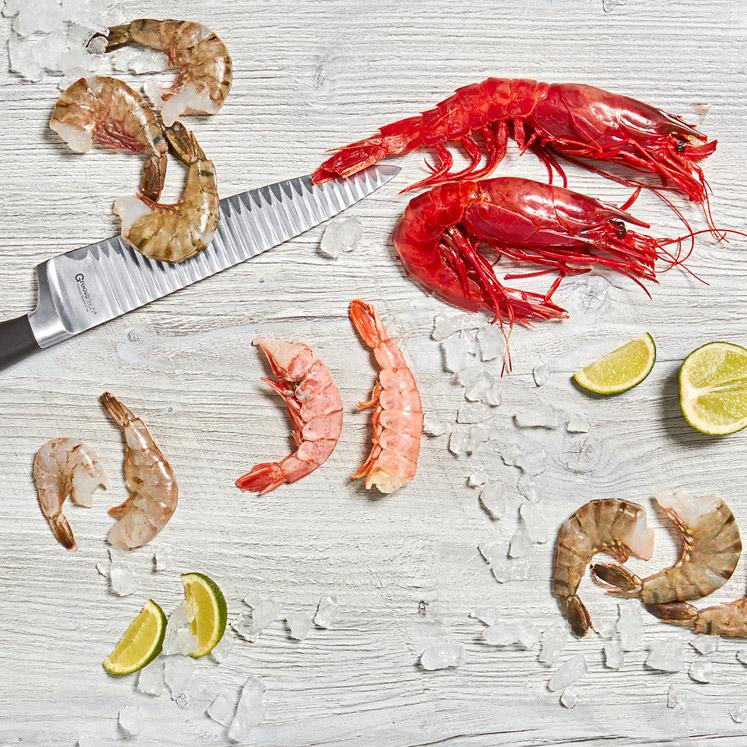 Assortiment garnalen | culinair