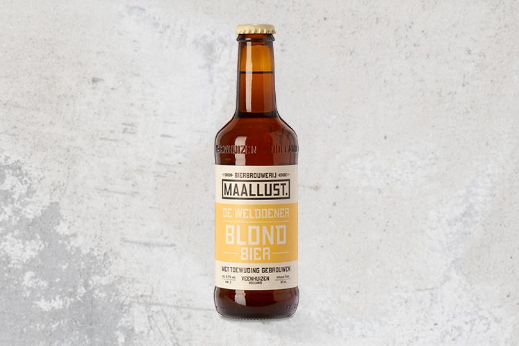 De weldoener Blond