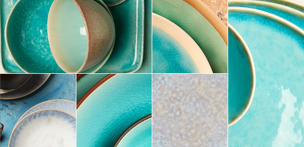 Tableware | Servies en porselein | Earth & Water