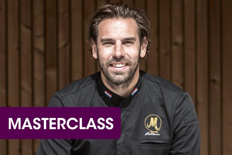 Masterclass IJskoude inspiratie door Hidde de Brabander X Koppert Cress