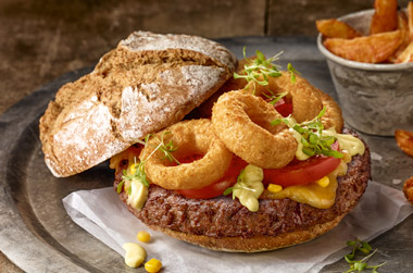 Burgers, buns & more