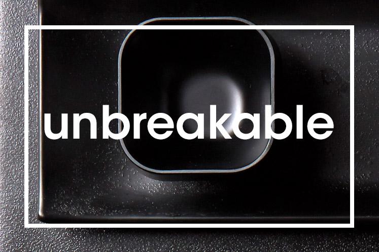 Tableware | Servies en porselein | Black Unbreakable