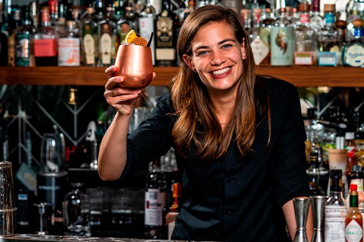 Masterclass cocktails met Tess