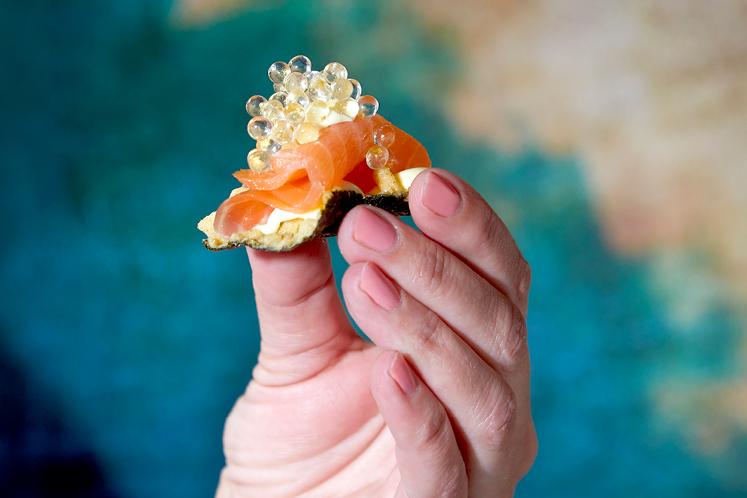 Zeewier crackers