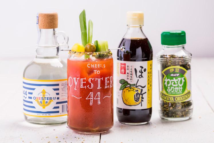 Bloody vodka OYESTER44