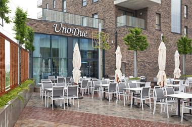 De kaart van Brasserie Restaurant Unodue