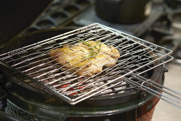 Flexibel grillrooster