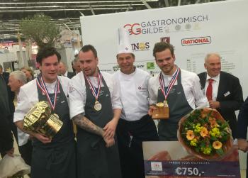 Restaurant La Rive wint Gouden Koksmuts 2017