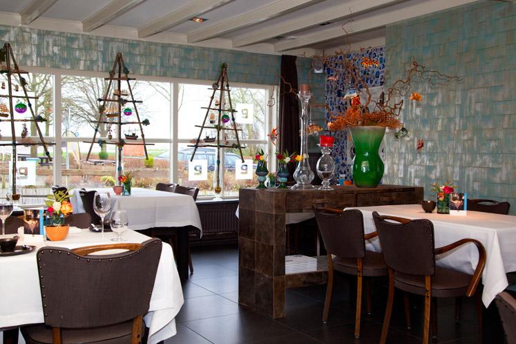 De dineerruimte van La Premiere