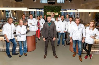 RTL Superstar Chef: 8 duo's koken sterren van de hemel met HANOS-assortiment
