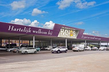 HANOS opent twee nieuwe groothandels in 2017