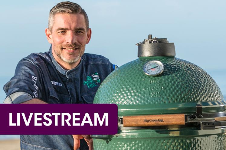 Livestream | Verrassend voorjaar op de Big Green Egg | Leonard Elenbaas