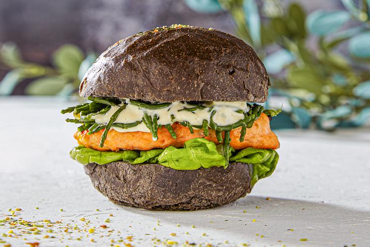 Zalmburger | Comfort Food | HANOS