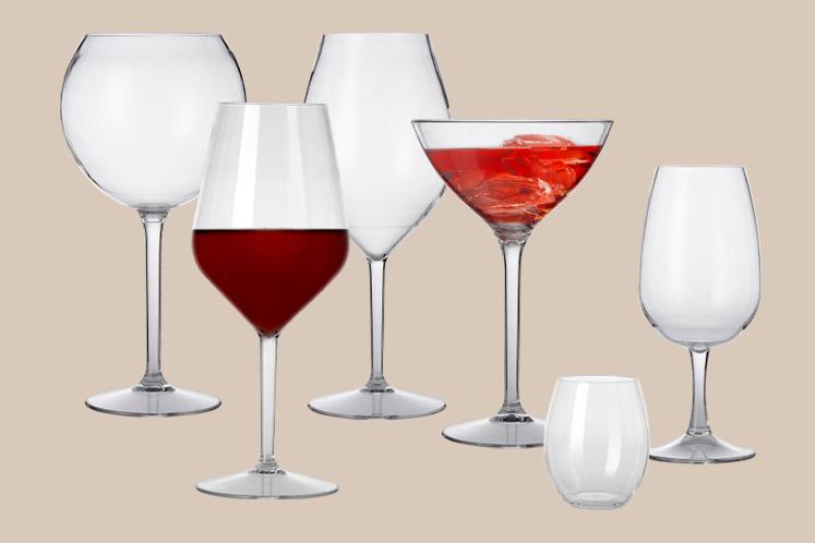 Depa onbreekbare glazen