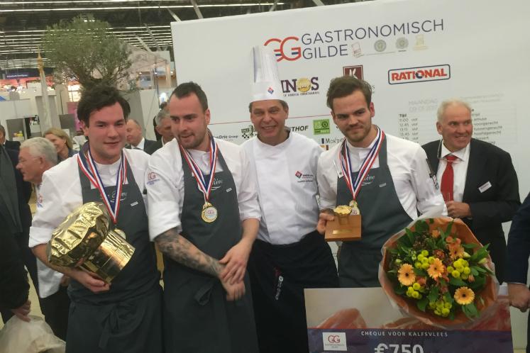 Het winnende team van La Rive