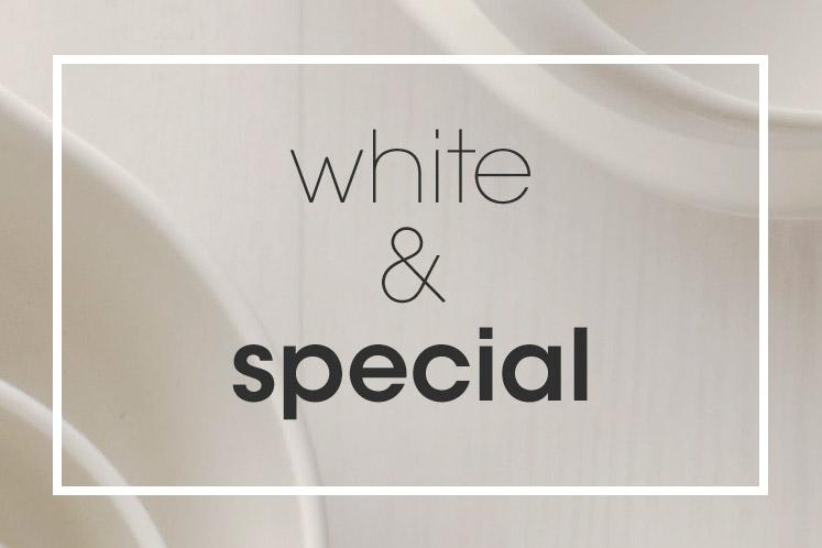 Tableware | Servies en porselein | White Special