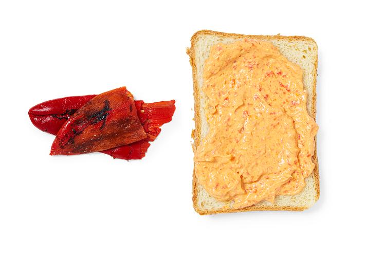 Gegrilde paprika   Spreads
