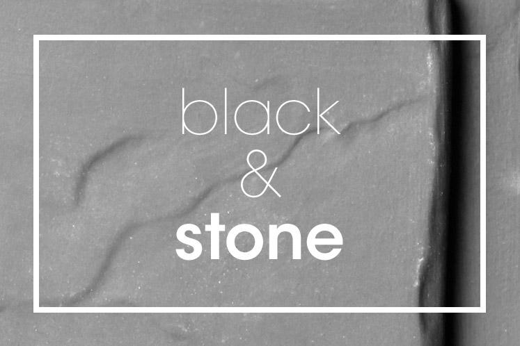 Tableware | Servies en porselein | Black Stone