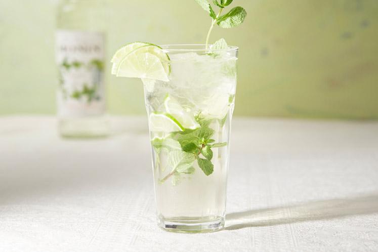 Groene thee mojito