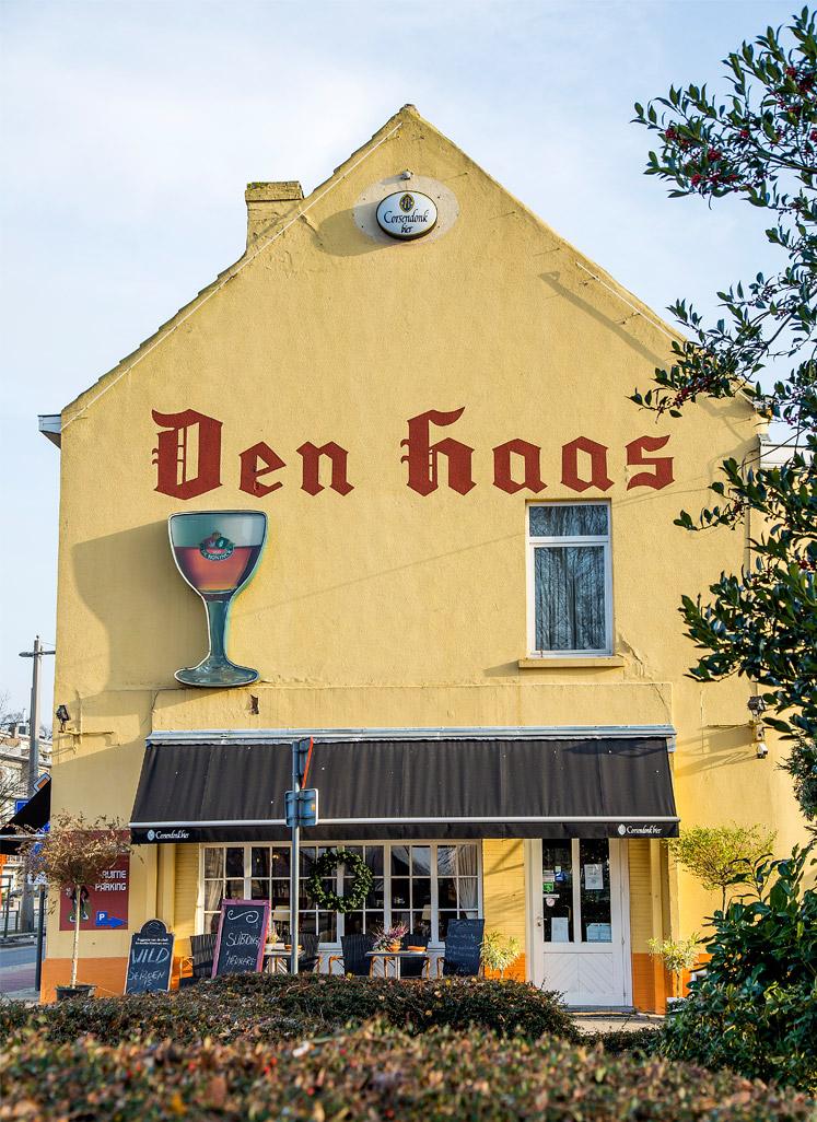 Het pand van Den Haas