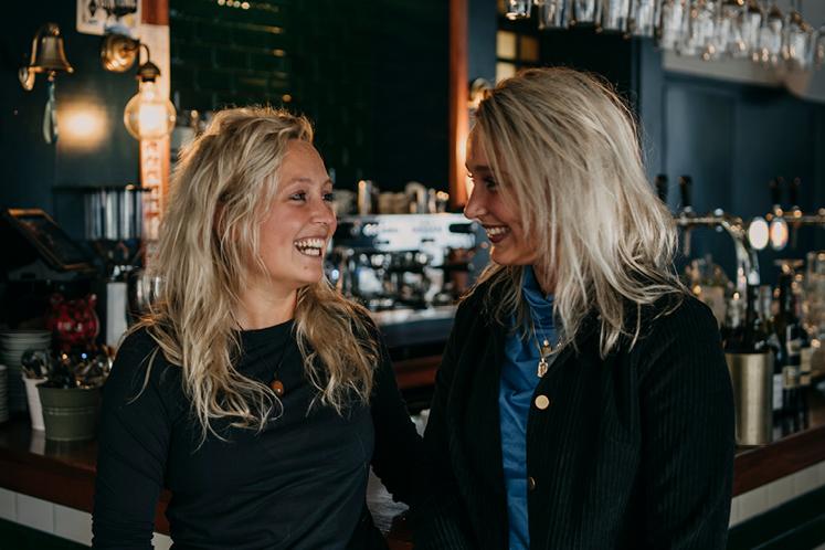 Lynn en Daphne Koolhof