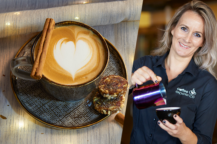 Winter coffees met Stephanie de Dreu