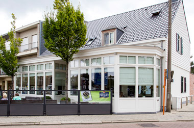 De kaart van Brasserie 't Wit Huys