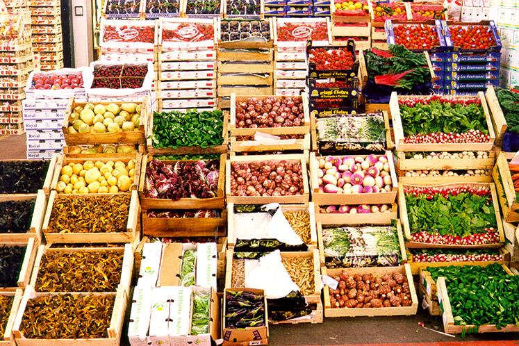 De versmarkt in Rungis (Frankrijk), de groothandels van HANOS worden bevoorraad met de meest unieke en verse producten