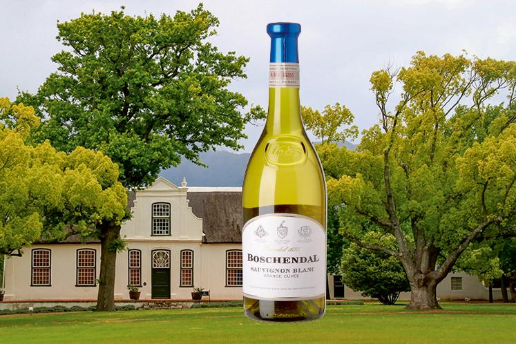Zuid-afrikaanse wijn   Boschendal Sauvignon blanc Grande Cuvé