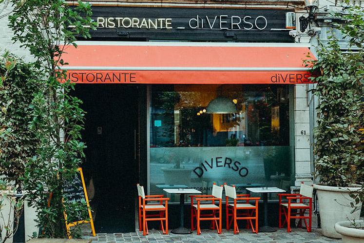 Italiaans maar dan anders: diVerso