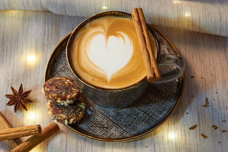 Winter Apple Pie | Winter coffees