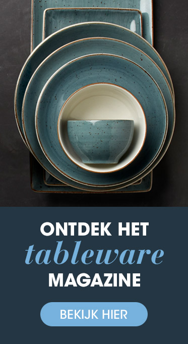 Banner Tableware Magazine HANOS