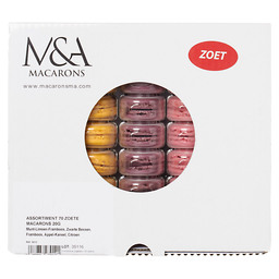 MACARONS SWEET 20 GRAM ASSORTMENT 1