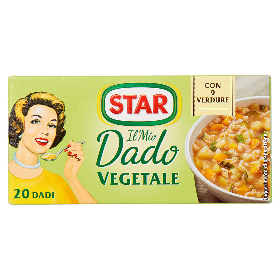 STAR BOUILLON VEGETALE 20X10GR