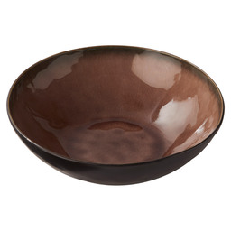 BOWL 26X8.4 CM PURE BROWN FLAME