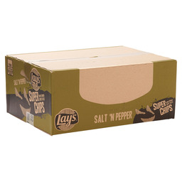 LAY'S SUPERCHIPS  SALT'N PEPPER 40GR
