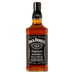 JACK DANIEL'S BLACK TENNESSEE WHISKEY