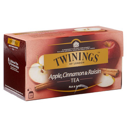 THEE APPLE/CINNAMON/  RAISINS TWININGS