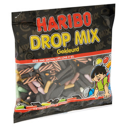 COLOURED LIQUORICE CANDY  MIX