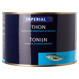 TONIJN IN WATERUITL.1350GR  IMPERIAL SEN