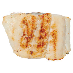 COOKED COD PORTIONS WITH SKIN 165GR