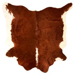 COWHIDE 2-3M2 BROWN/WHITE