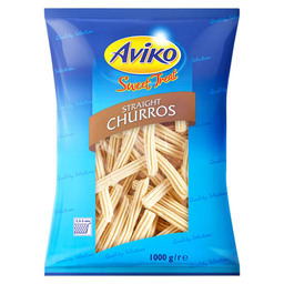 CHURROS, QUICK-FROZEN.