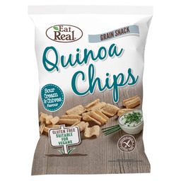 QUINOA CHIPS ZURE ROOM EN BIESLOOK