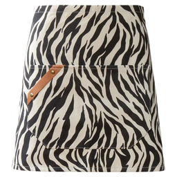 SLOOF CANVAS ZEBRAPRINT
