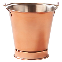 MINI BUCKET COPPER 10X10CM BUYER-RVS