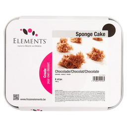 SPONGE CAKE CHOCOLATE ELEMENTS