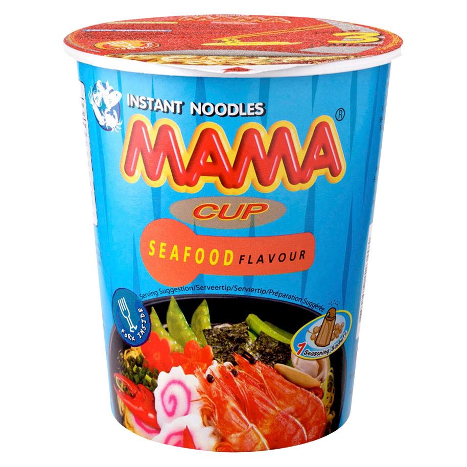 NOODLES SEAFOOD 70GR INSTANT CUP