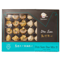 DIM SUM ASSORTIMENT MIX D 18GR STOMEN