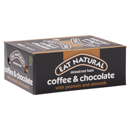 EAT NATURAL BAR 45GR COFFEE/CHOC/PEANUTS